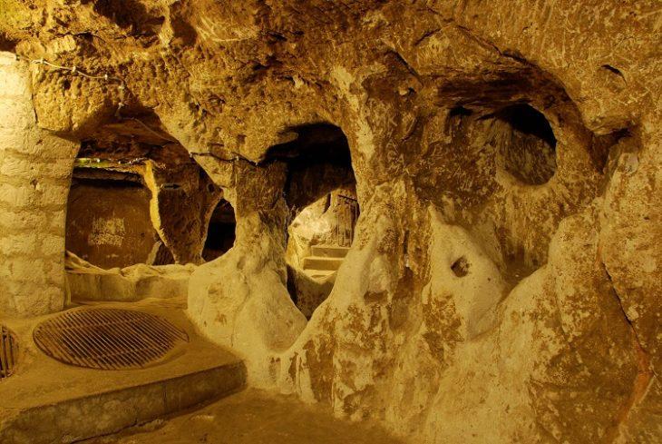 Túneles de la Edad de Piedra