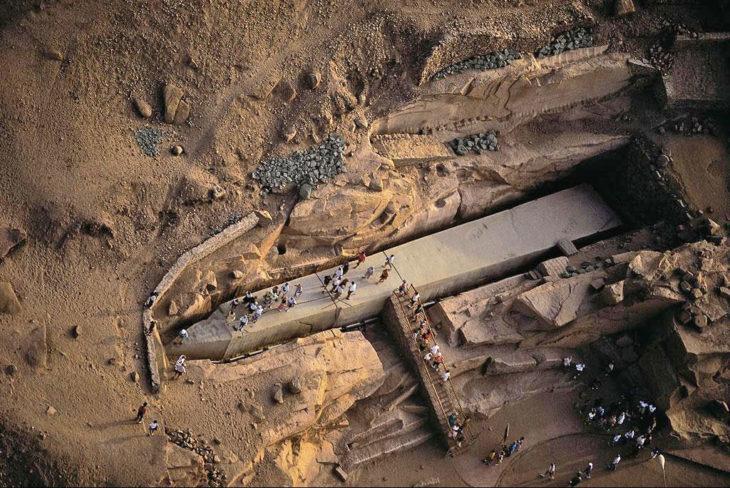 Obelisco Aswan inacabado
