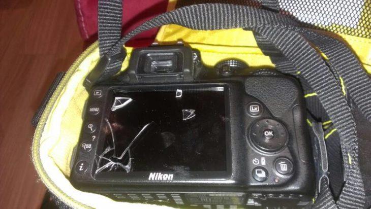 cámara rota