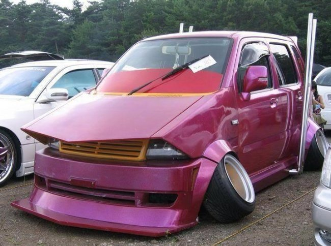 carro arreglado