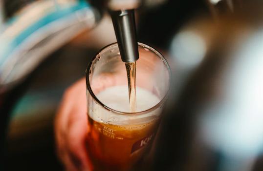 cerveza tirada en francia