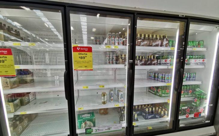 escasez de cerveza