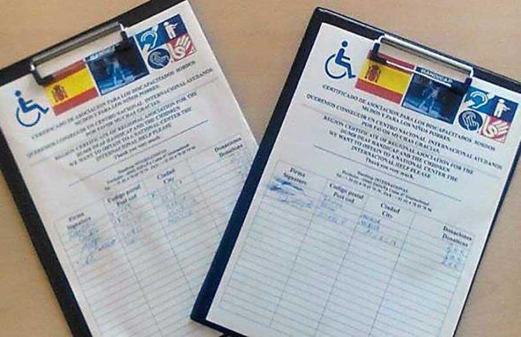 firma petición