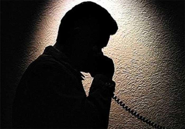 llamada en la noche