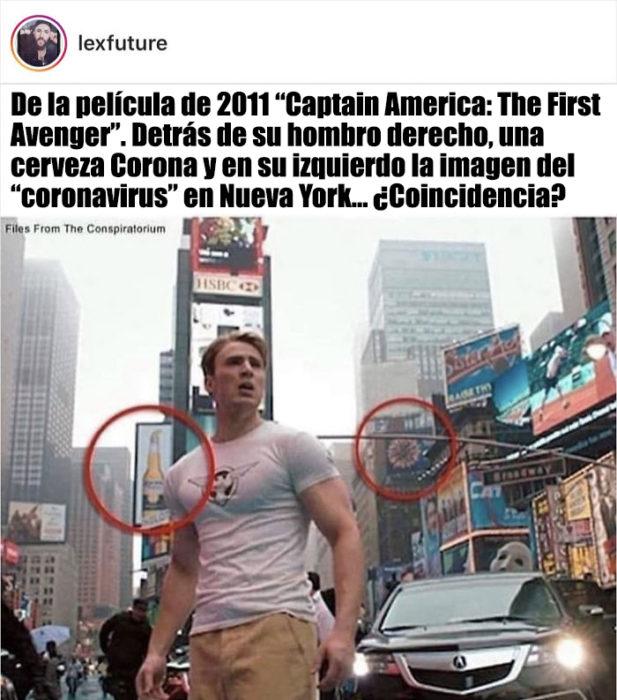 teoría capitán américa