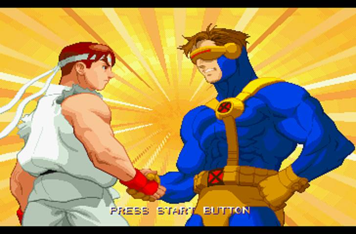 X-Men vs Street Fighter (1996)
