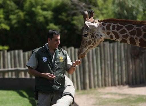 Cuidador de un zoológico