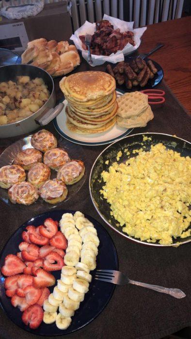 desayunos de película