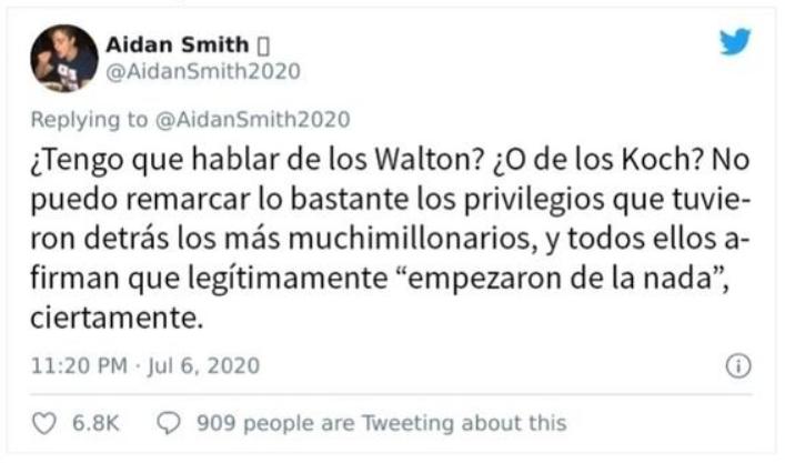 millonarios Walton y Koch