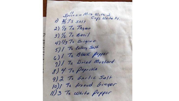 receta del kfc