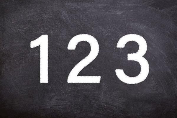 Numerales arábigos