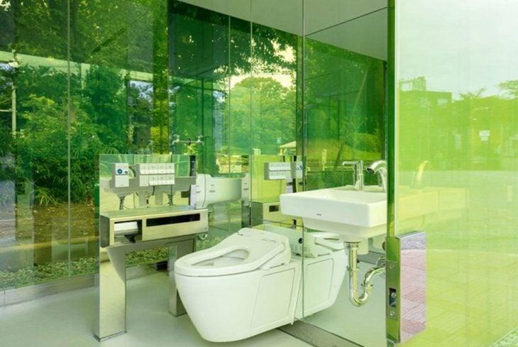baños transparentes