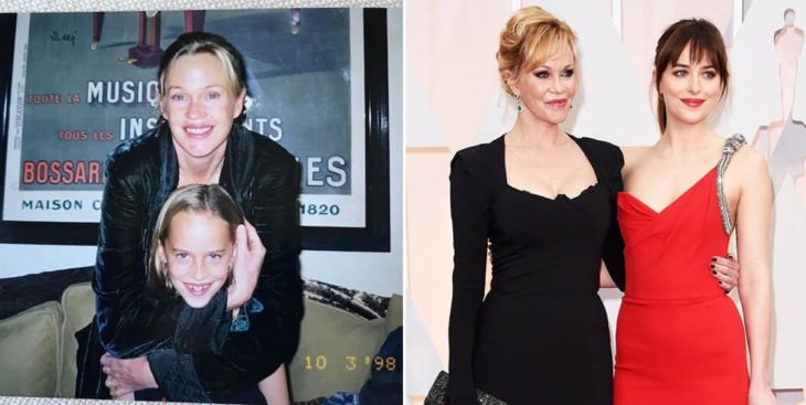 melanie griffith y dakota jhonsson