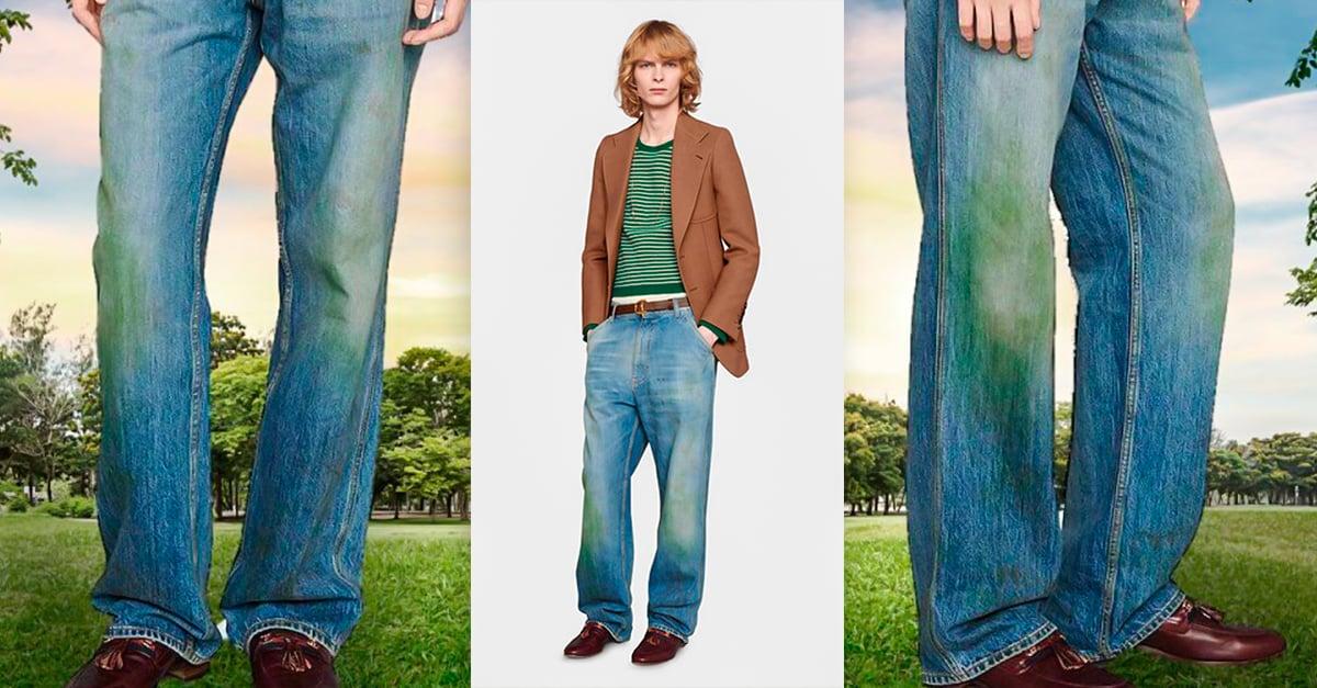Gucci Vende Pantalones Con Manchas De Pasto En 773 Dolares