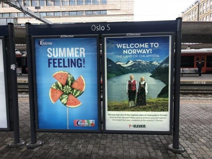 Publicidad noruega