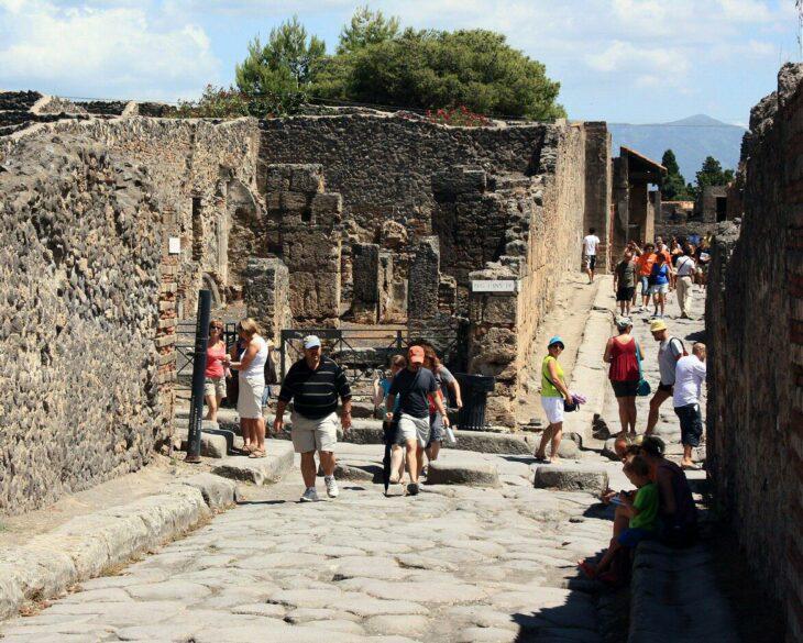 pompeya turistas