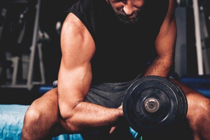 brazo pesas