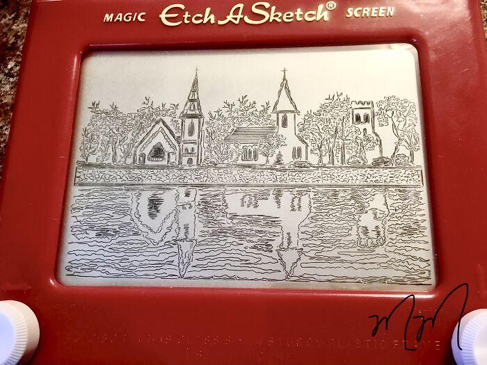 tres iglesias en la bahía de mahone