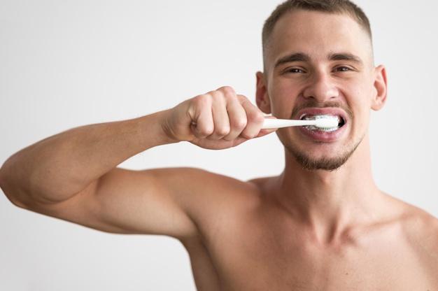 lavar dientes