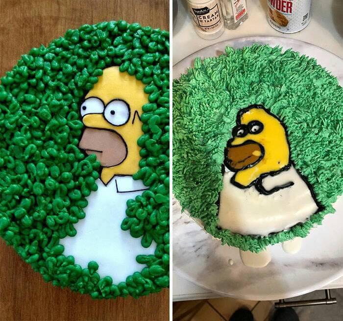 pasteles feos
