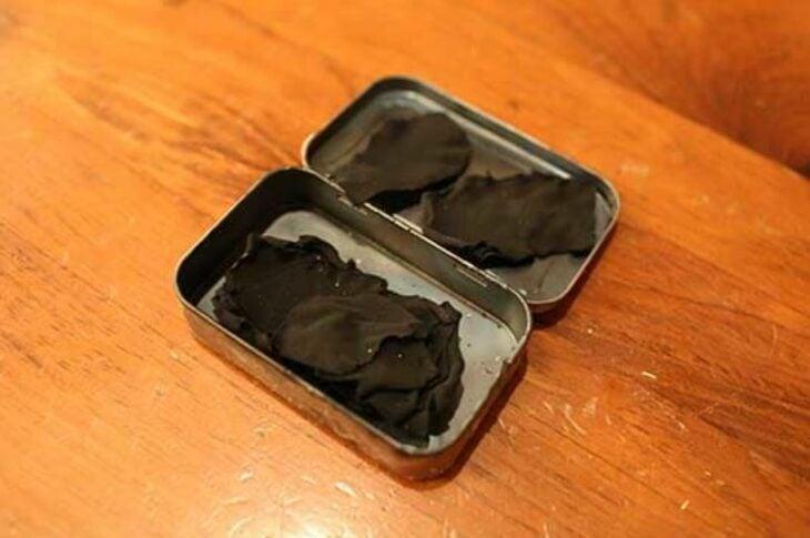 carbón de tela