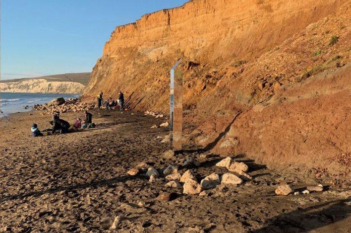 monolito de la Isla de Wight
