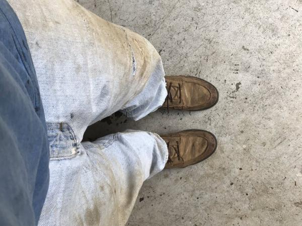 pantalones sucios