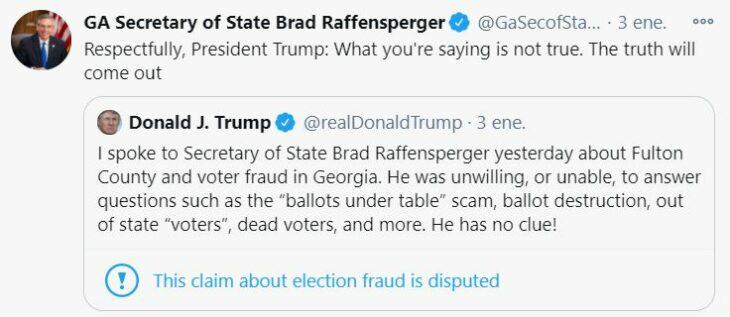 Trump tuiter