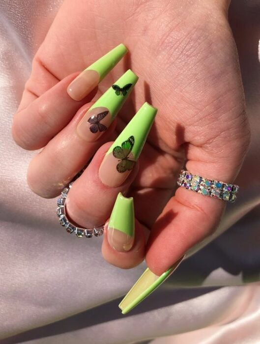 20 Nail Designs With Butterfly Decorations That Will Inspire You 11
