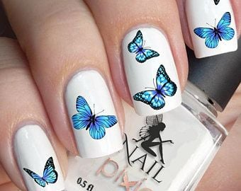 20 Nail Designs With Butterfly Decorations That Will Inspire You 8