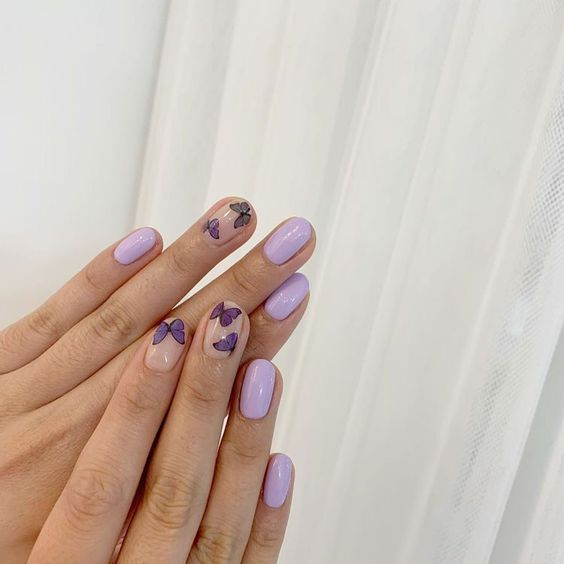 20 Nail Designs With Butterfly Decorations That Will Inspire You 2