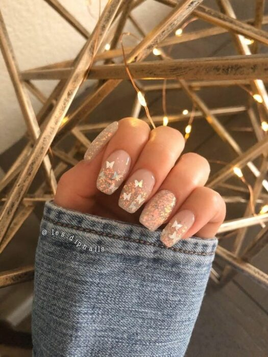 20 Nail Designs With Butterfly Decorations That Will Inspire You 19