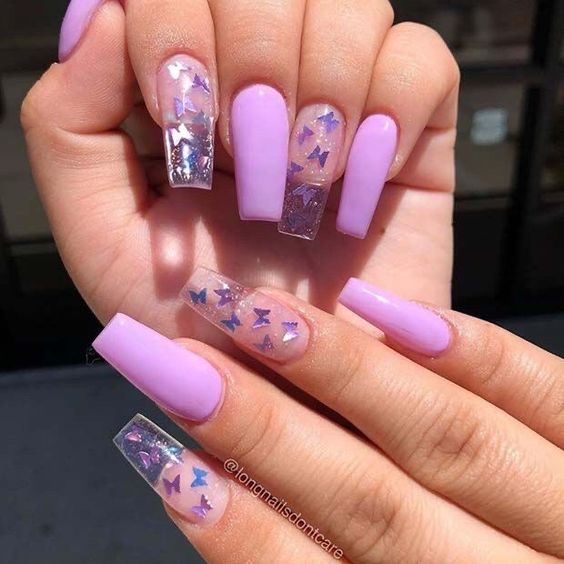 20 Nail Designs With Butterfly Decorations That Will Inspire You 16