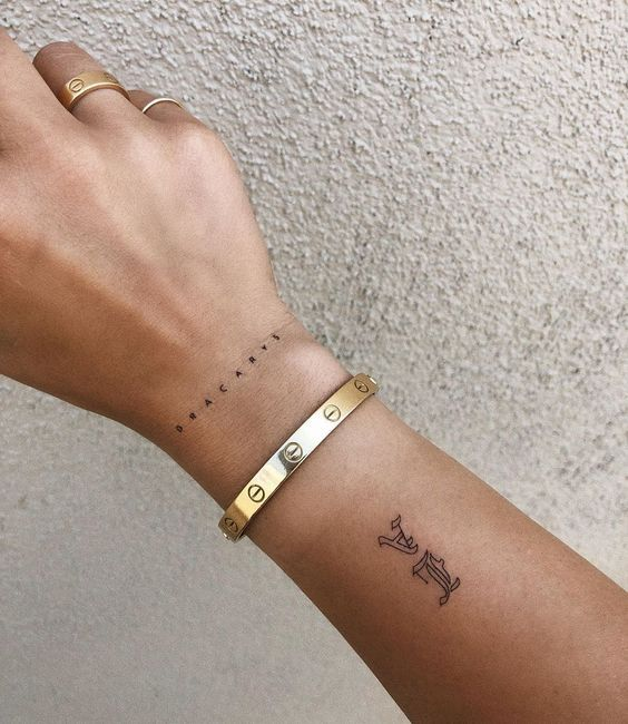 15 Tattoo Ideas For Those Who Love Aesthetic Style 10