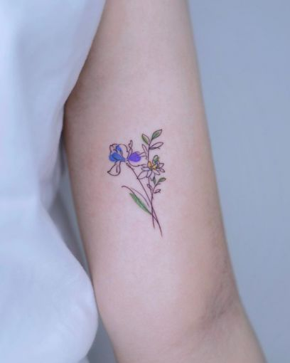 15 delicate floral tattoos perfect for the season 8