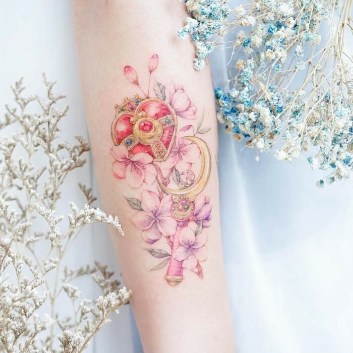 15 incredible tattoos to show off you're a true Sailor Scout 4