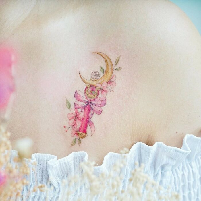 15 incredible tattoos to show off you're a true Sailor Scout 2