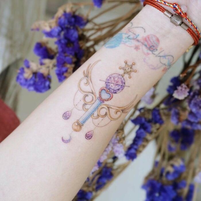 15 incredible tattoos to show off you're a true Sailor Scout 5