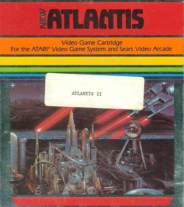 Atlantis II para Atari 2600