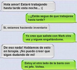 SMS de infieles
