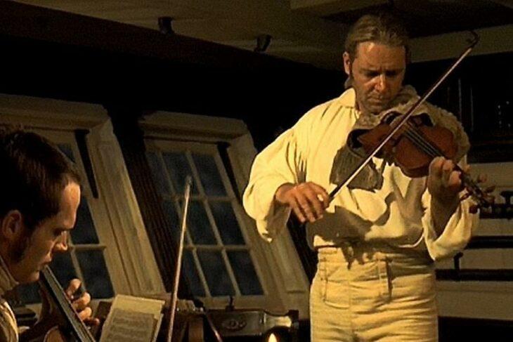 russell crowe violín