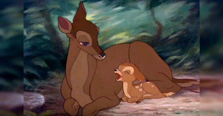 bambi y su mamá
