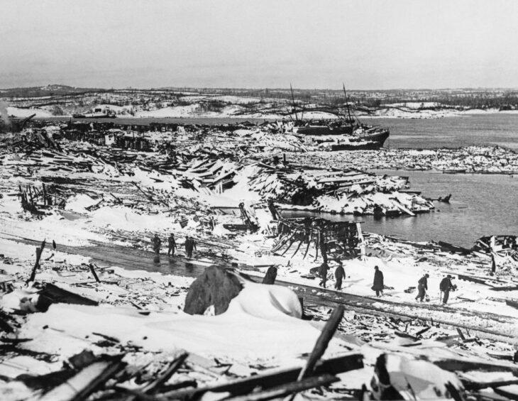 La explosión de Halifax