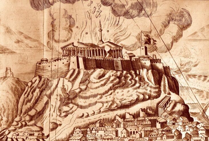 destrucción del Partenón