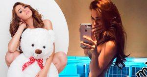 Yanet García, la chica más sexi del clima llegó a 4 millones en Instagram; y así lo celebró