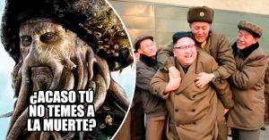 El mundo se pregunta quién es el osado viejito que se le subió de caballito a Kim Jong-un