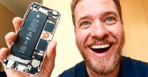 Construyó un iPhone desde cero y funcionó; las piezas las consiguió en China
