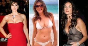 11 famosas que pasan de los 50 y están mejor que una de 20; Mamasitas y Abuelas sexis