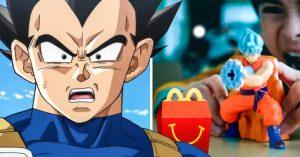McDonalds da en el clavo, sacará juguetes de Dragon Ball Super en las cajitas felices