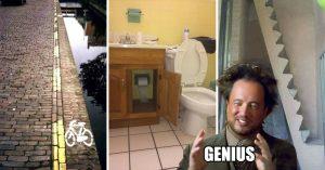 Construcciones tan tontas y absurdas que te harán sentir como un genio en potencia